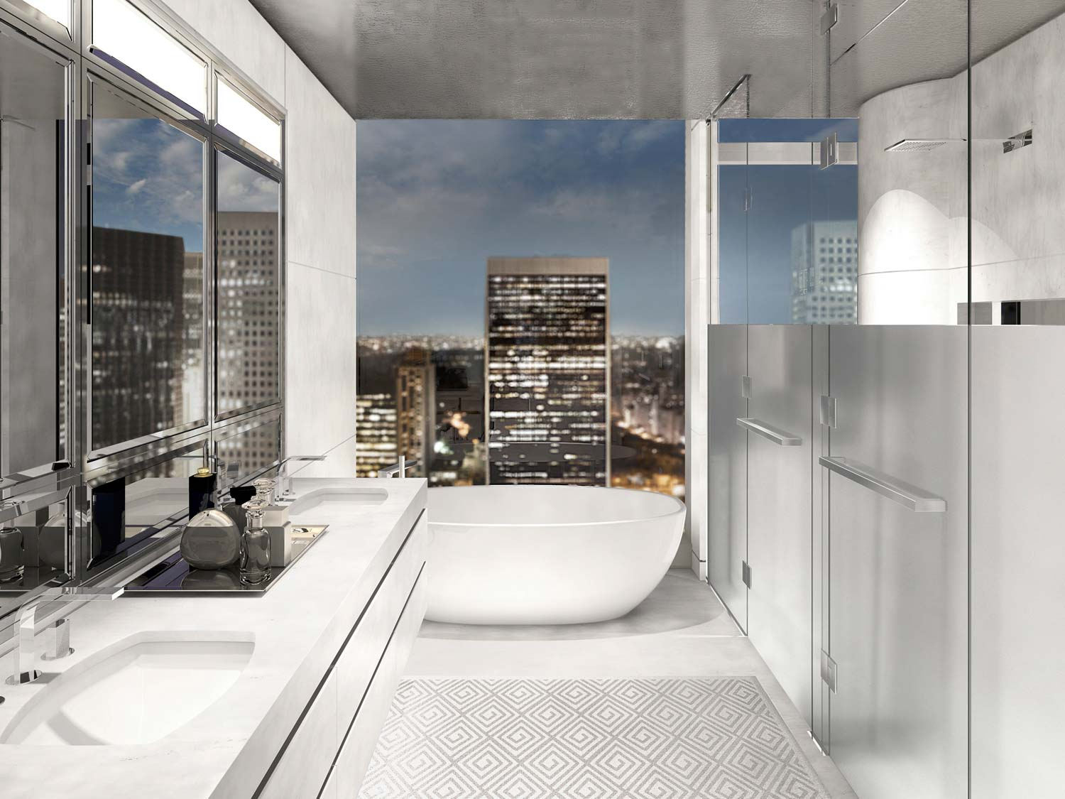 Baccarat Hotel Amp Residences New York Casual Opulence