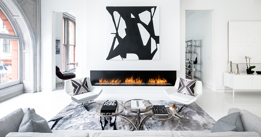 Bleecker Tower Fire Place