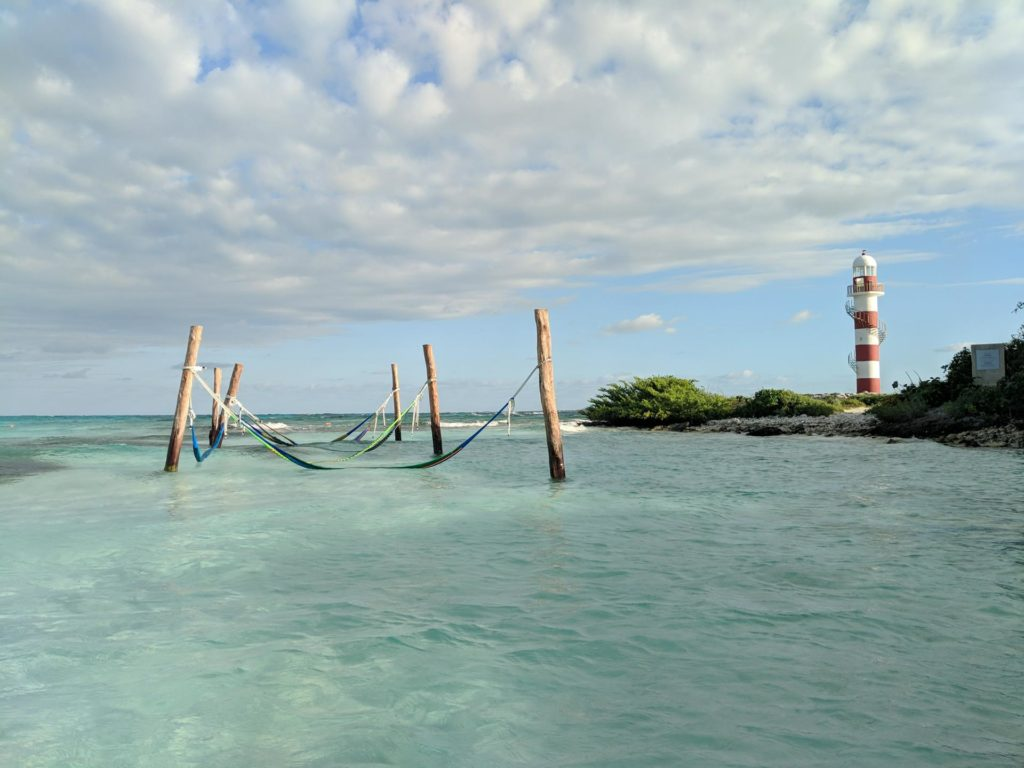Hammocks and Lighthouse at Hyatt Ziva Cancun