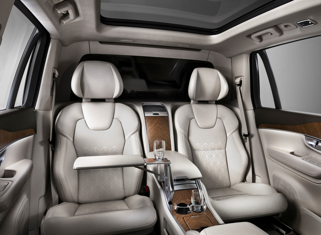 Volvo XC90 Excellence Rear Seats